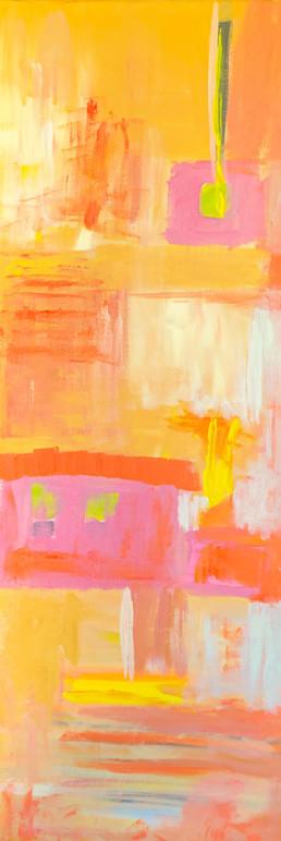 Acryl auf Canvas, 35x100 cm