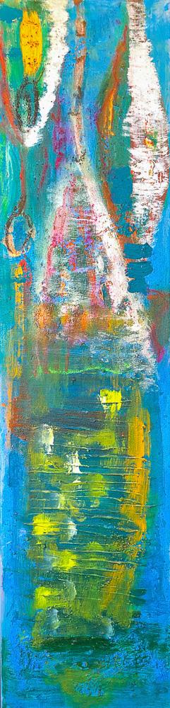 Acryl auf Canvas, 30x80 cm
