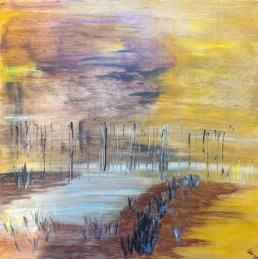 Acryl auf Canvas, 60x60