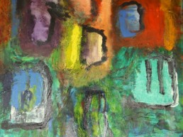 Acryl auf Canvas, 60x60 cm