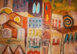 Acryl auf Canvas, 100x70 cm