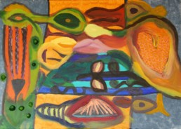 Acryl auf Canvas, 80x60 cm
